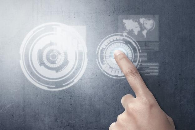 Concept de technologie numérique