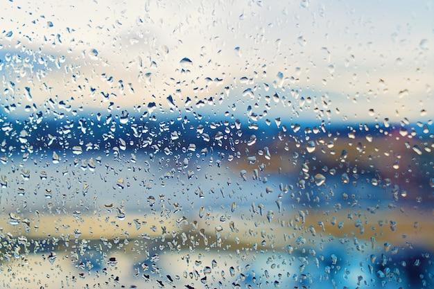 Concept de temps d'automne et saison des pluies