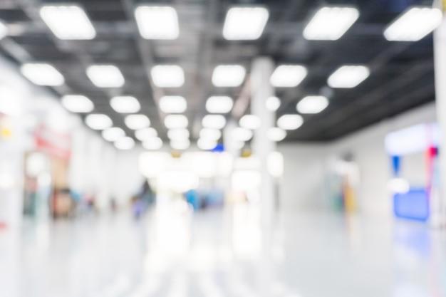 Concept de terminal d'aéroport fond flou