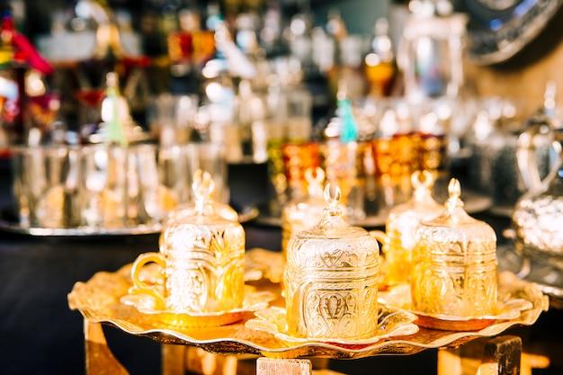 Concept de thé oriental