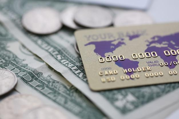 Concept de transaction d'argent rapide