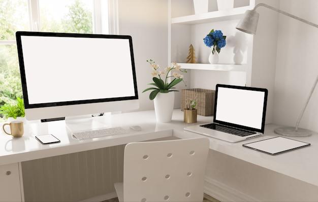 Concept de travail à domicile
