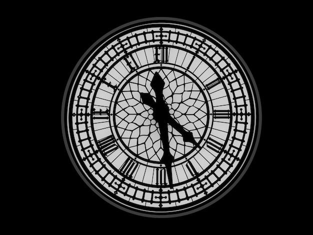 Concept de travail avec le temps