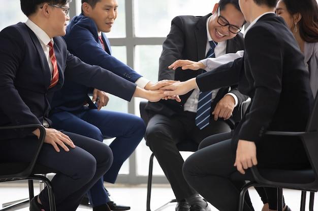 Concept d'unité des gens d'affaires