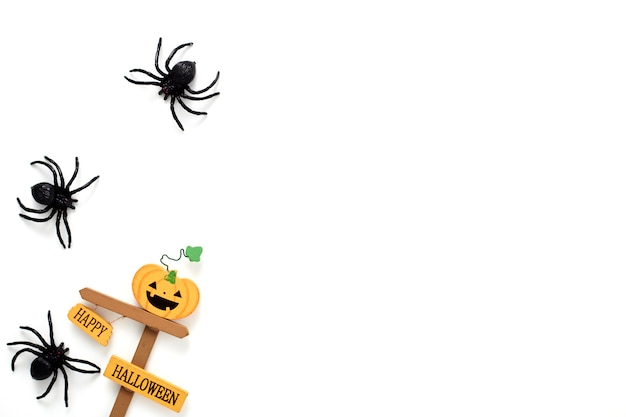 Concept de vacances de décoration d'halloween