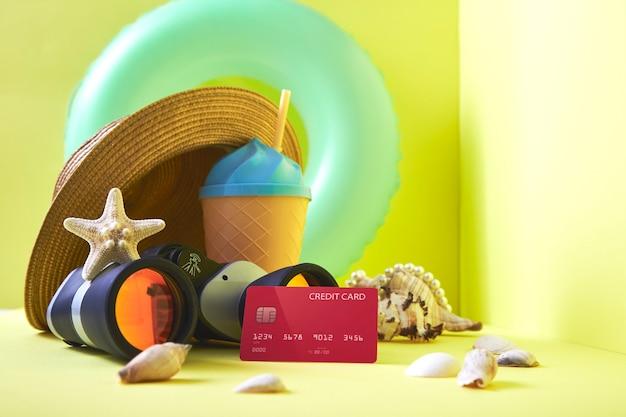 Concept de vacances financieres plan de voyage financier