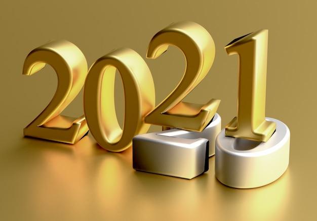 Concept de vacances de nouvel an le numéro de couleur se situe au gris