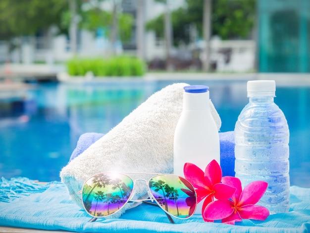 Concept de vacances, plage, voyage d'été
