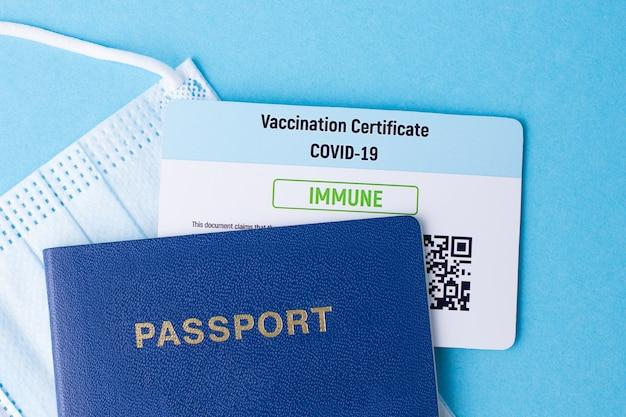 Concept de vaccination contre le virus covid-19