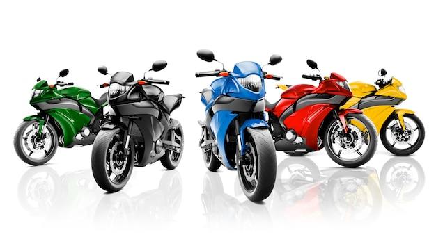 Concept de véhicule moto sans moto