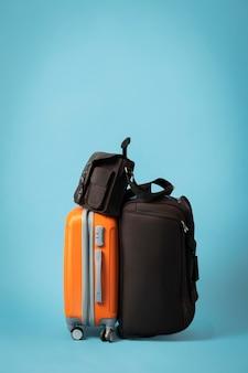 Concept de voyage avec bagages