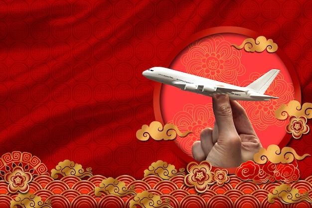 Concept de voyage en chine