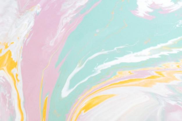 Conception abstraite colorée