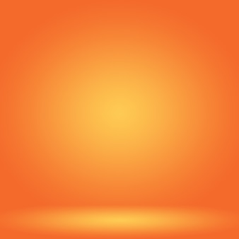 Conception abstraite de la mise en page de l'arrière-plan orange lisse, modèle web, rapport d'activité avec une couleur de dégradé de cercle lisse