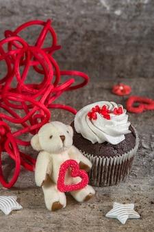 Conception de cartes de voeux pour la saint-valentin
