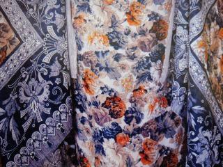 La conception de couleur pleine toile, doublure, la texture, bleu