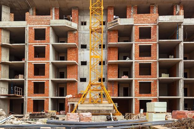 Conception du renforcement du cadre de renforcement pour le coffrage de maison en brique de maison à ossature de béton