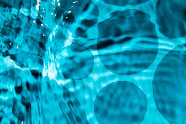 Conception de l'eau abstraite et goutte d'eau monochrome