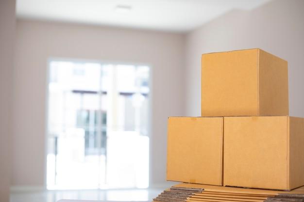 Conception d'emballage de produit d'emballage de boîte maquette postale express transportant à vendre en ligne à la commande auprès du client