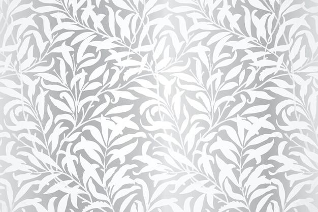 Conception de fond à motifs de feuilles abstraites