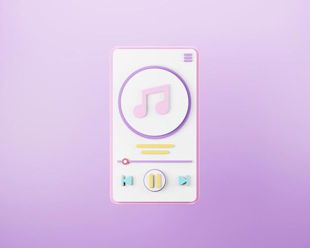 Conception d'interface de lecteur de musique en streaming
