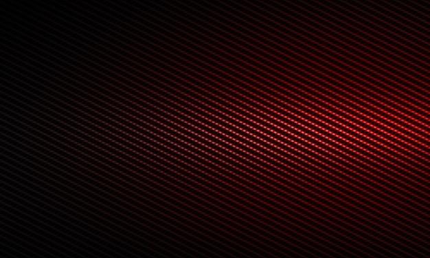 Conception de matériau texturé abstrait moderne en fibre de carbone rouge pour le fond, le papier peint, la conception graphique