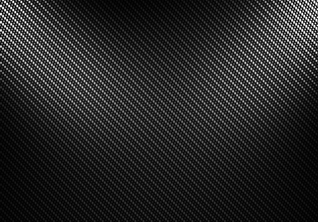 Conception matérielle abstraite texturée en fibre de carbone noire
