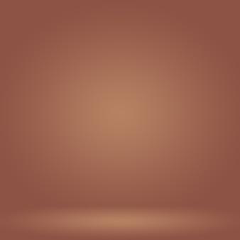 Conception de mise en page de fond de mur brun lisse abstrait, modèle web, rapport d'activité avec une couleur de dégradé de cercle lisse.