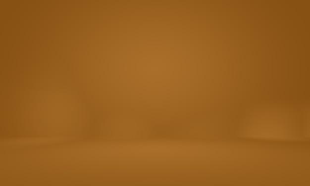 Conception de mise en page de fond de mur brun lisse abstrait, studio, salle, modèle web, rapport d'activité avec une couleur de dégradé de cercle lisse