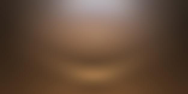 Conception De Mise En Page De Fond De Mur Brun Lisse Abstrait, Studio, Salle, Modèle Web, Rapport D'activité Avec Une Couleur De Dégradé De Cercle Lisse. Photo gratuit