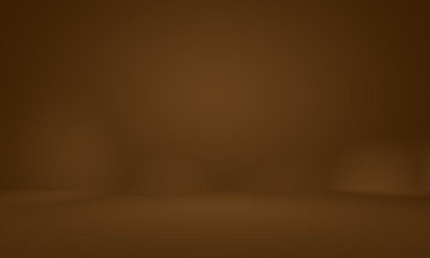 Conception de mise en page de fond de mur brun lisse abstraitstudioroommodèle webrapport d'activité avec...