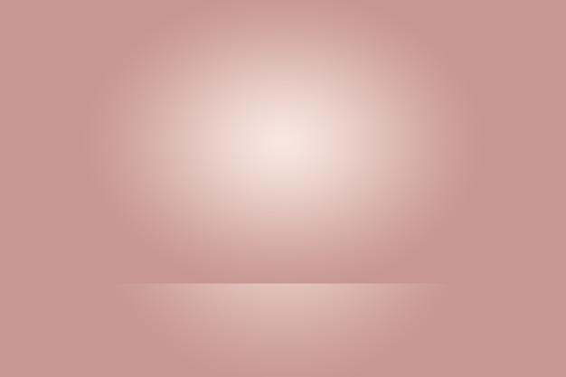 Conception de mise en page de la saint-valentin de noël de fond rouge doux de luxe abstrait, studio, salle, modèle web, rapport d'activité avec une couleur de dégradé de cercle lisse