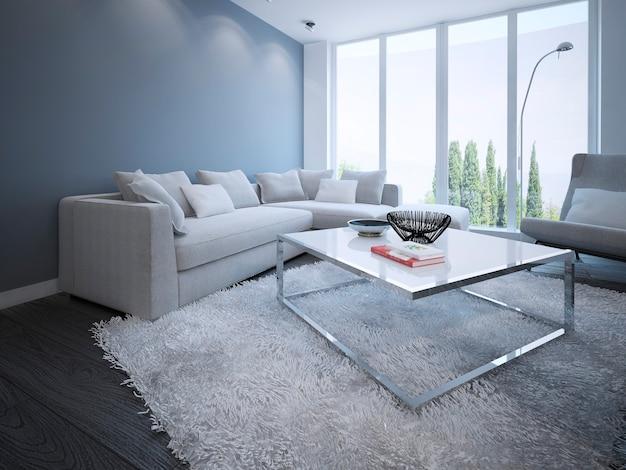 Conception de salon minimaliste