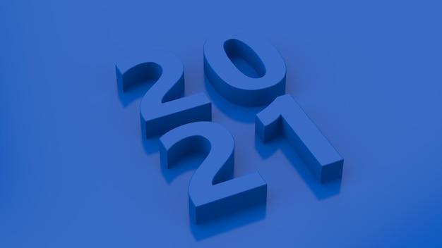 Conception de typographie bleue