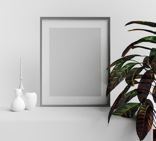 Conceptions de maquette de cadre d'affiche