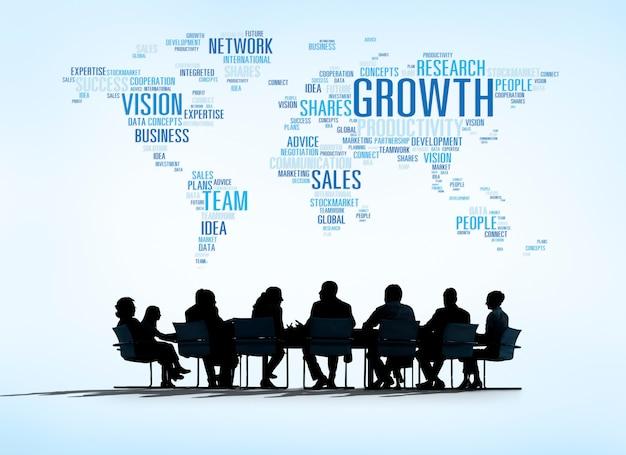 Concepts d'affaires mondiaux