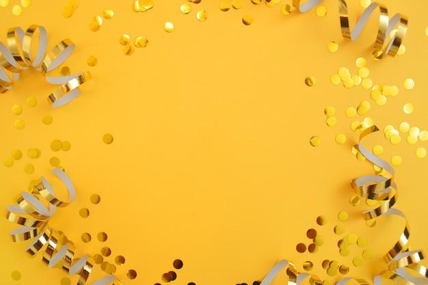 Confettis et banderoles