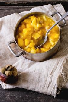 Confiture de fruits exotiques