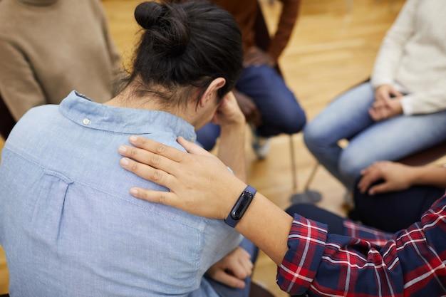 Confort dans le groupe de soutien