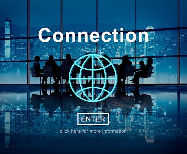 Connexion d'affaires