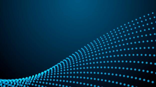 Connexion réseau abstraite. abstrait techno numérique
