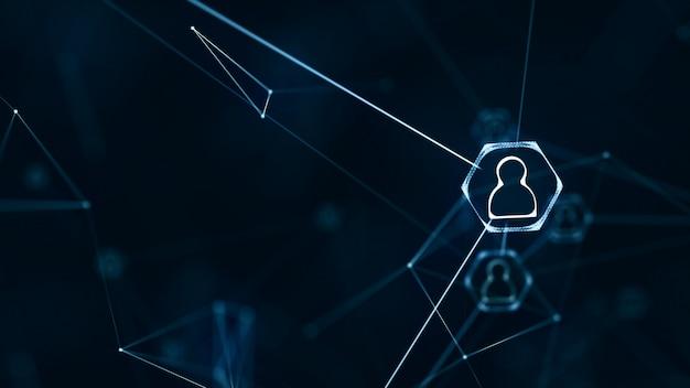 Connexions au réseau social