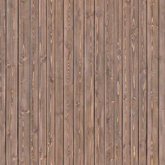 Conseil de clôture brun vertical avec des taches naturelles sur la surface .fond ou texture