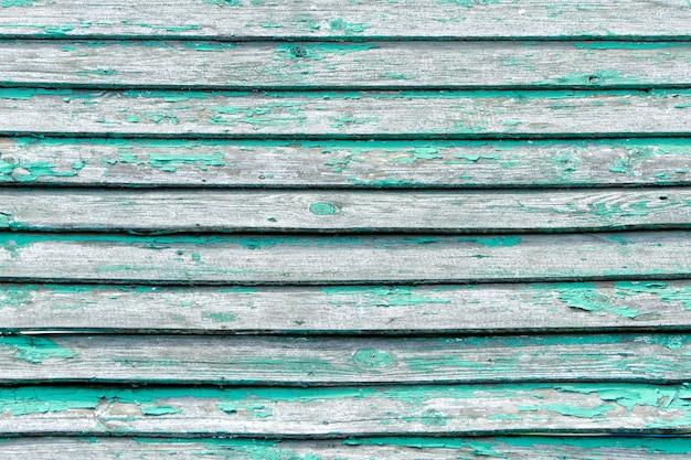 Conseil vintage vert. disposé horizontalement. texture. contexte