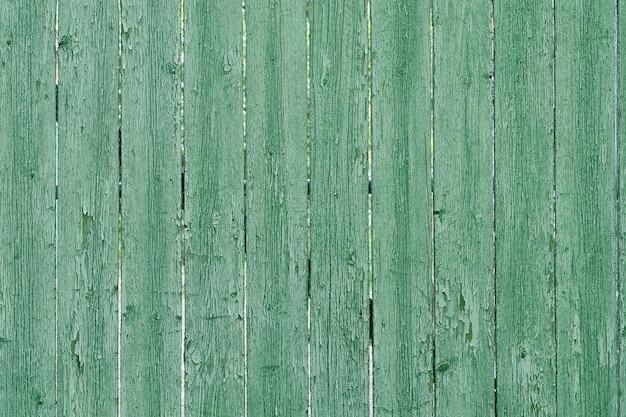 Conseil vintage vert. disposé verticalement. texture. arrière-plan