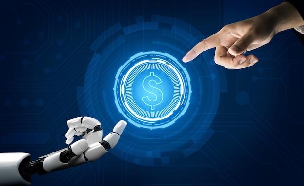 Conseiller en investissement et argent en robotique