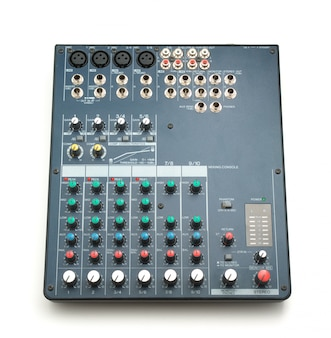 Console de mixage isolée