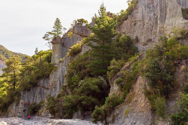 Constructeur de la nature. merveilles de la nouvelle-zélande.