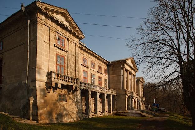 La construction de l'ancien palais ducal