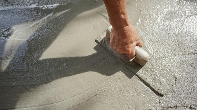 Construction - béton de plâtrier